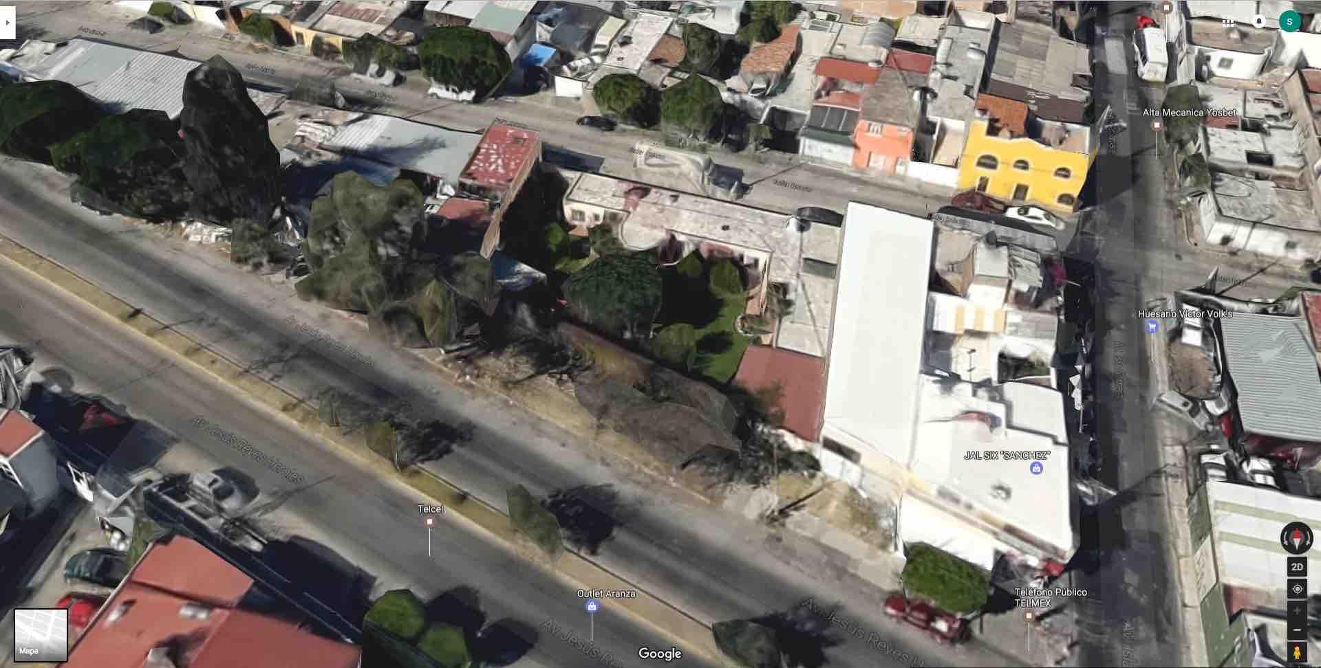 Colonia Vicente Guerrero, Av. Reyes Heroles 3148 (es la continuacion de Av. Conchitas)