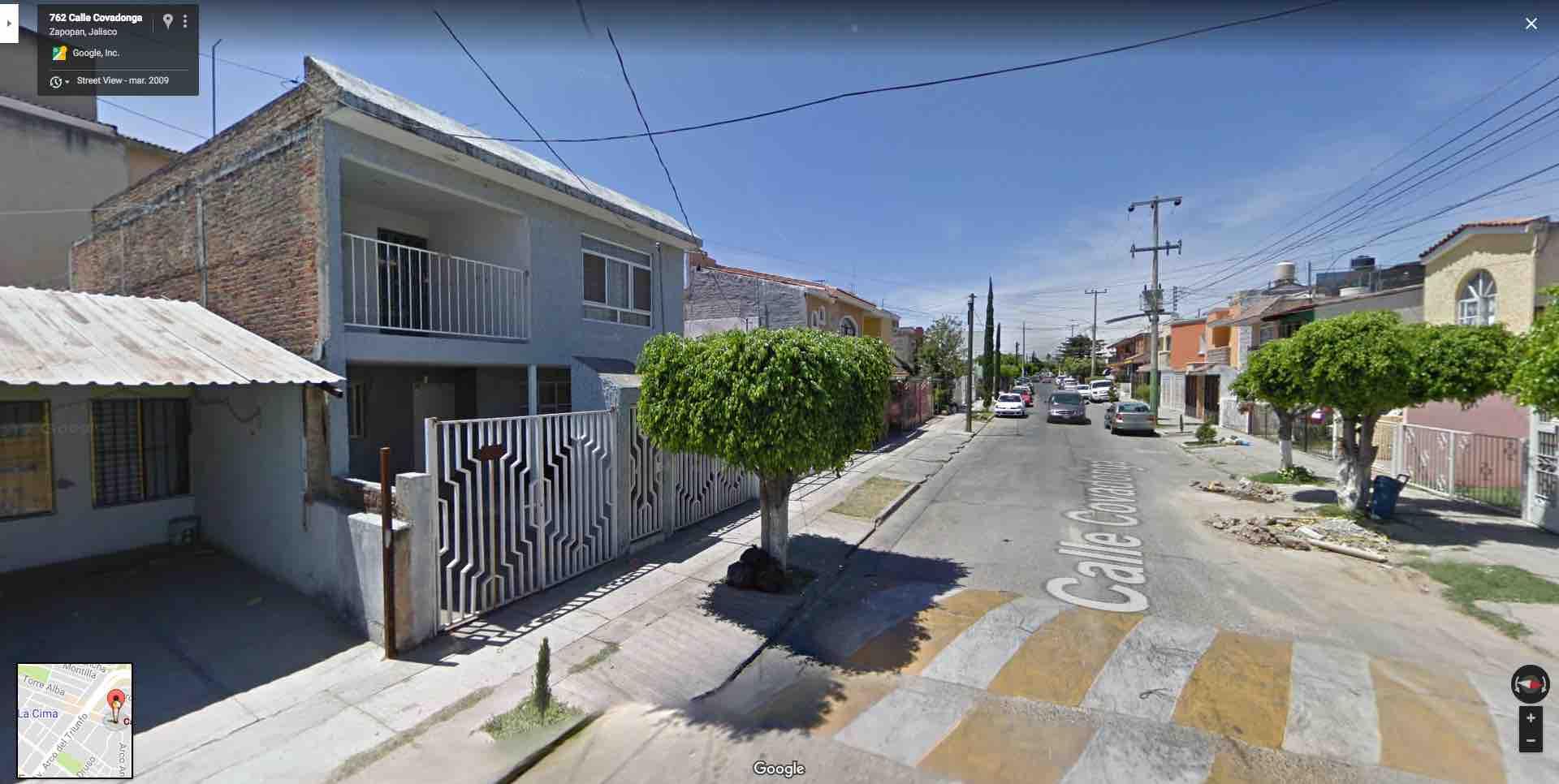 Fracc. Lomas de Zapopan, Calle Covadonga 803, Zapopan, Jal.