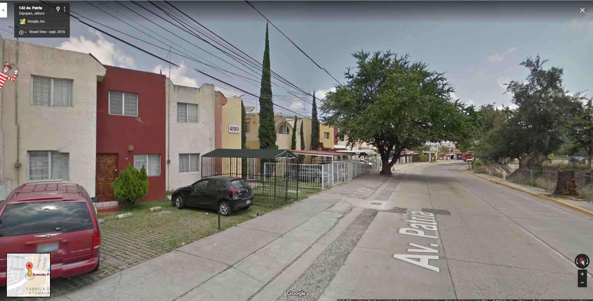 Fracc. Atemajac del Valle, Av. Patria 4199, Casa 22, Zapopan, Jal.