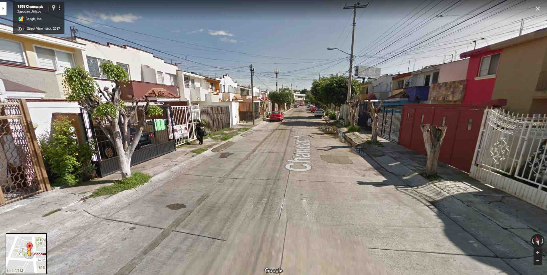 Fracc. Santa Catalina, Calle Chancanab 1547, Zapopan, Jal.