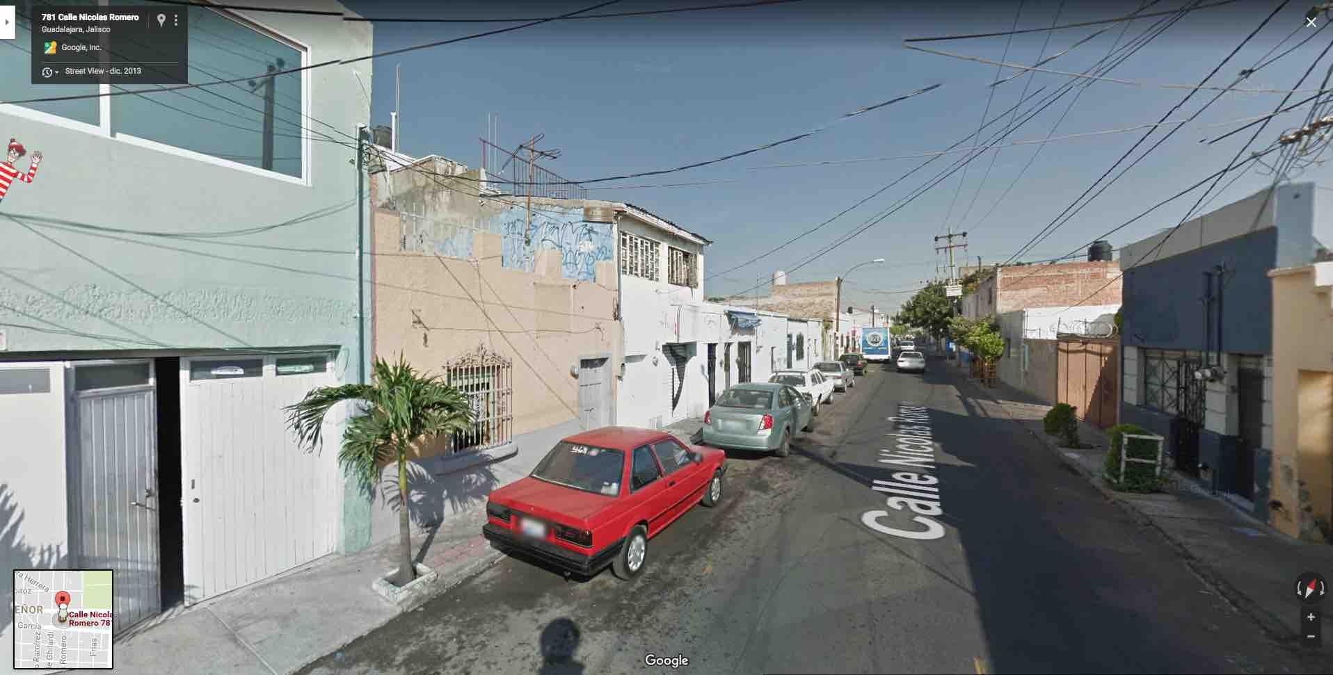 Colonia Santa Tere,  Calle Nicolas Romero 781, Guadalajara, Jal.
