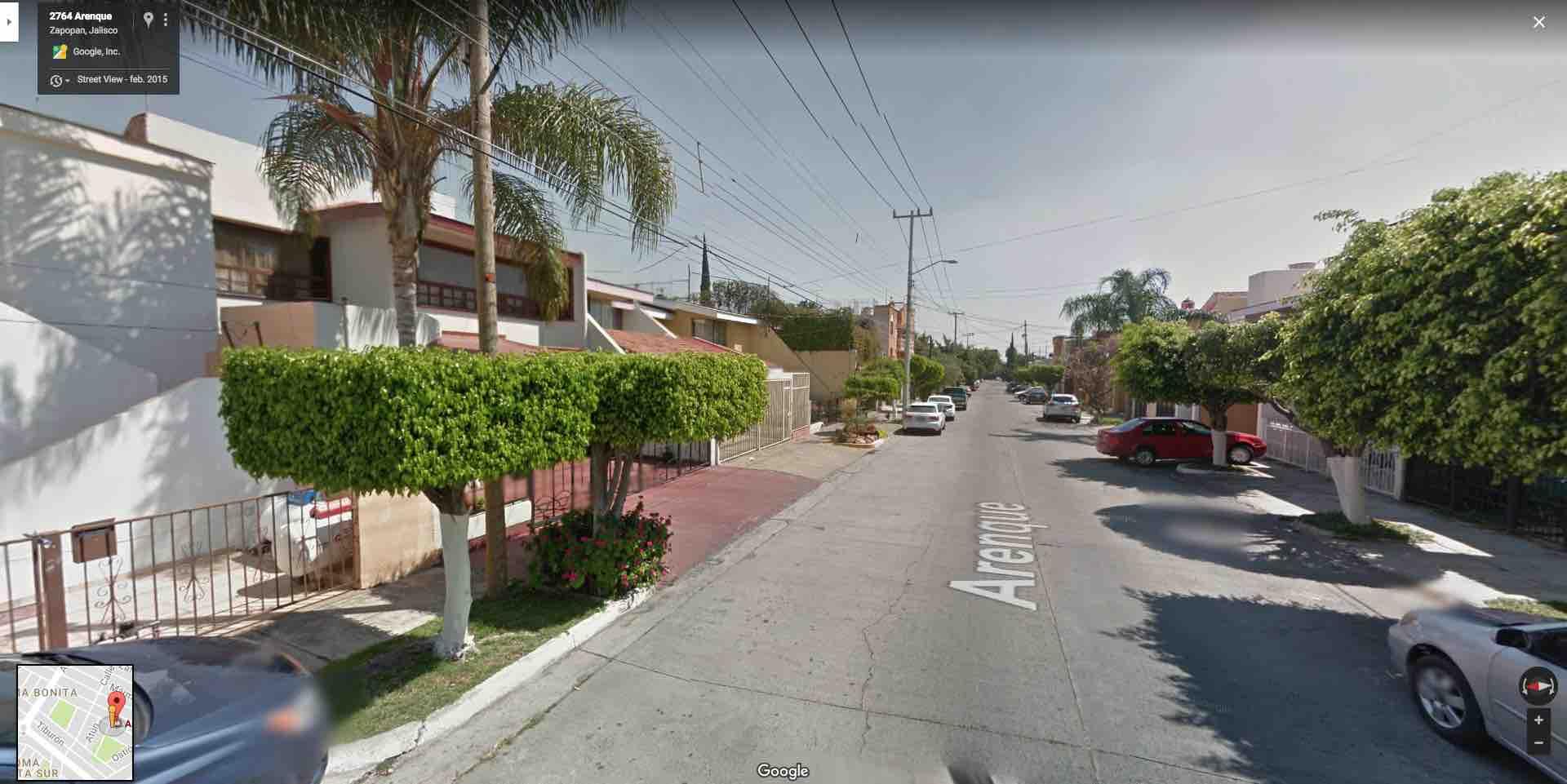 Fracc. Loma Bonita, Calle Arenque 2756, Zapopan, Jal. C.P. 45086
