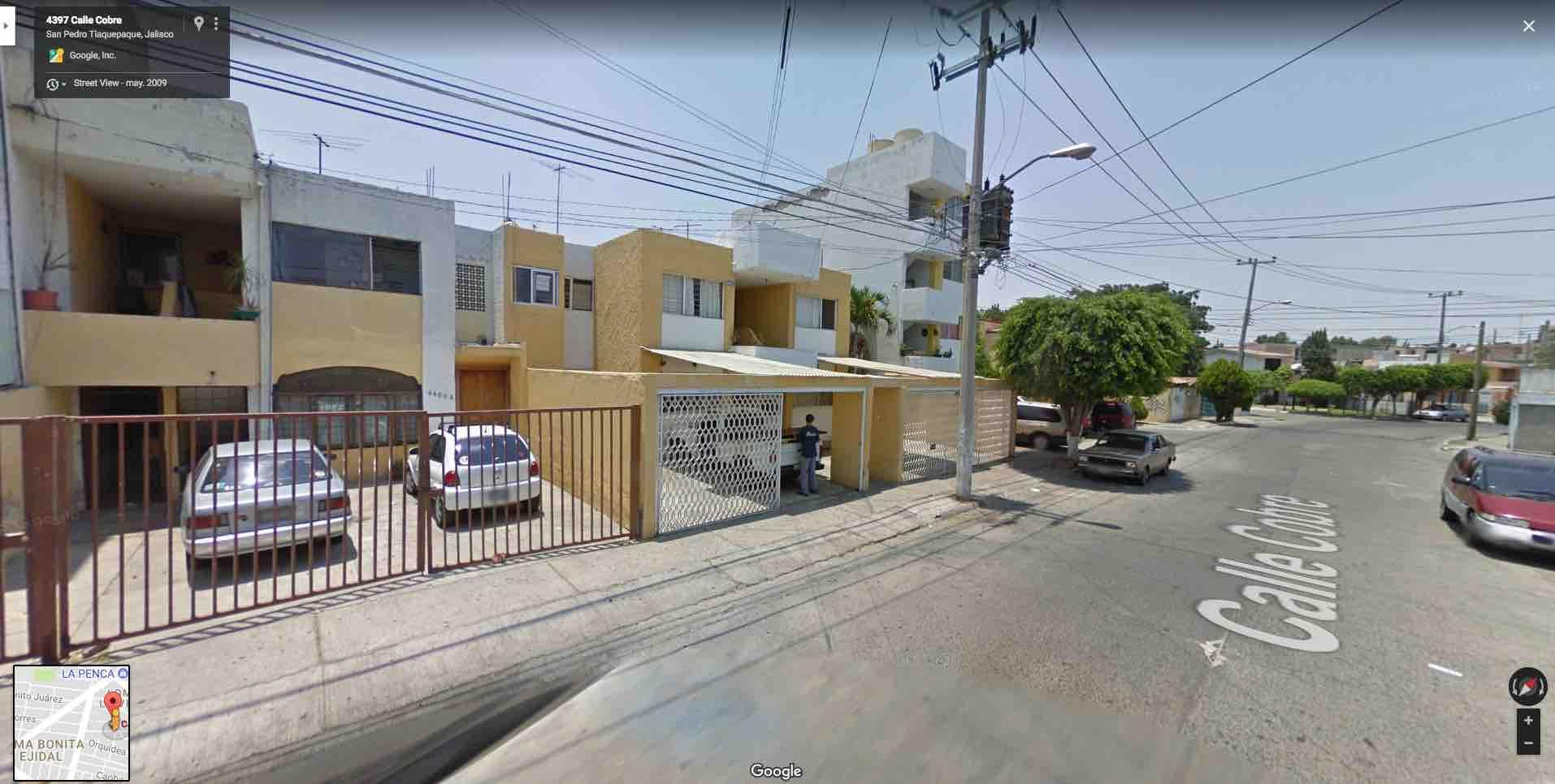 Fracc. Lomas de la Victoria, Calle Cobre 4388, Int. 8; Guadalajara Jal. C.P. 45607