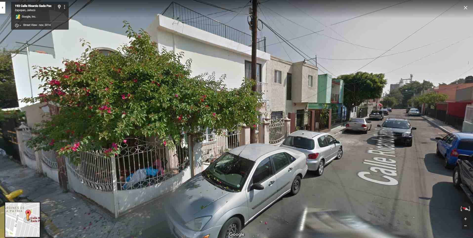 Fracc. Jardines de La Patria, Calle Ricardo Sada Paz 192, Zapopan, Jal. C.P. 45110