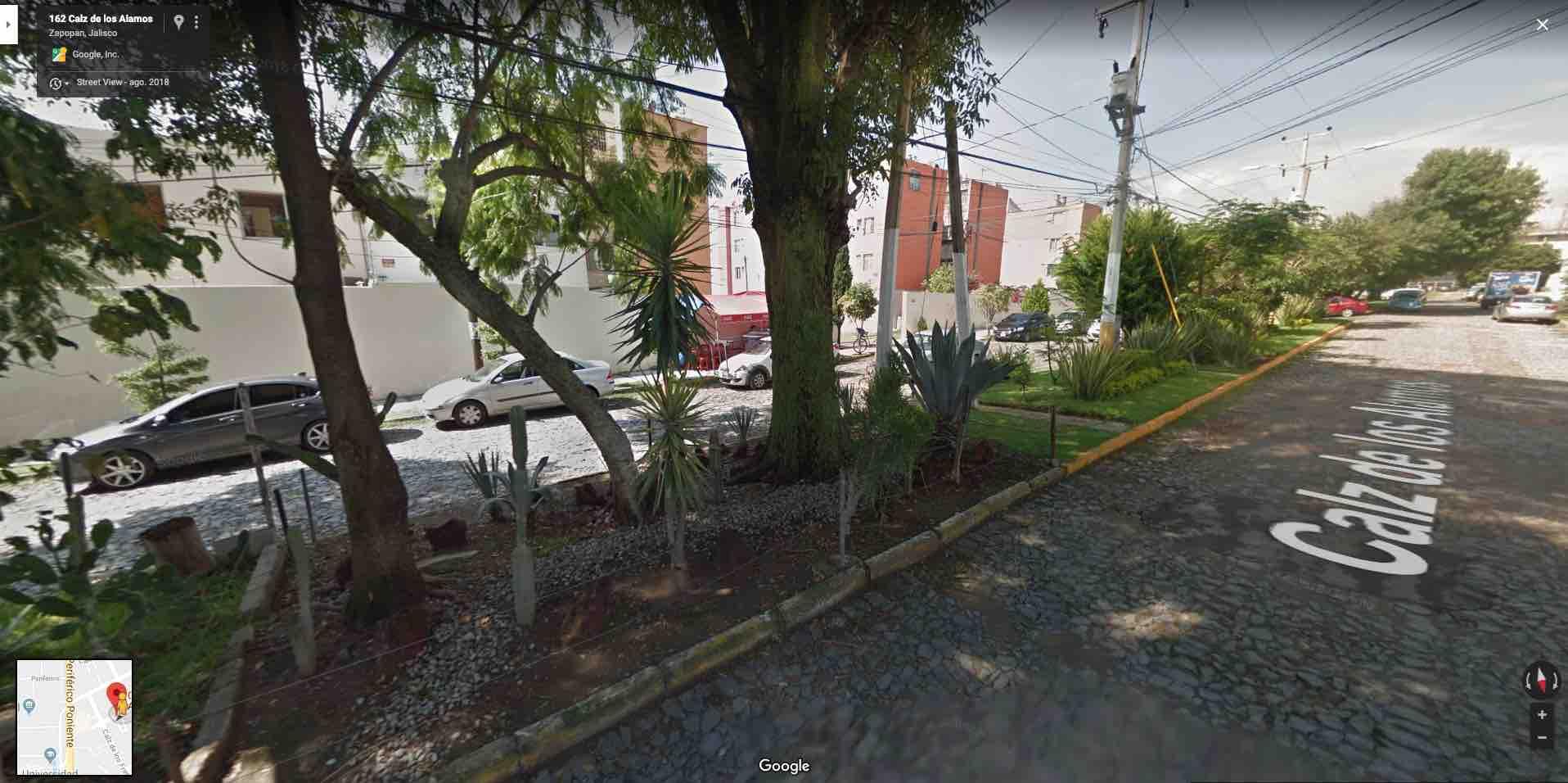 Fracc. Ciudad Granja, Calz. De Los Alamos 311, Depto. 4, Torre G, Zapopan, Jal. C.P. 45010