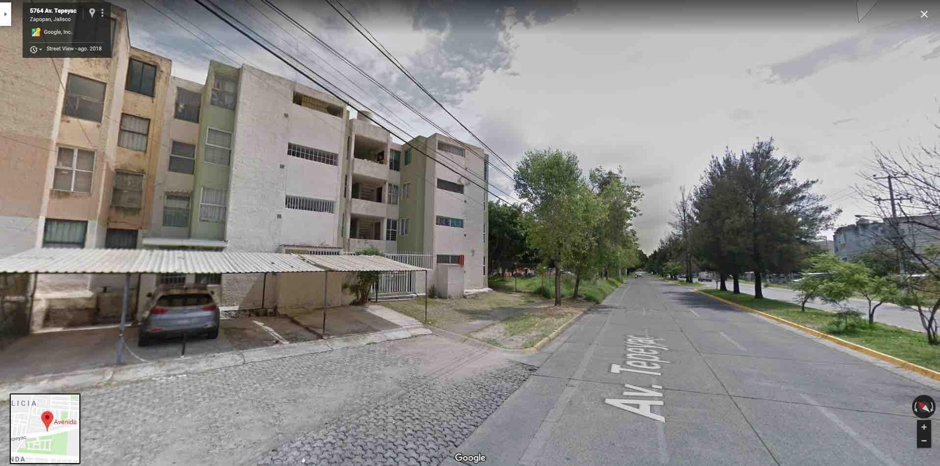 Fracc. Residencial Plaza Guadalupe, Av. Tepeyac 5591, Depto. 8, Cond. 9; C.P. 45030 Zapopan, Jal.