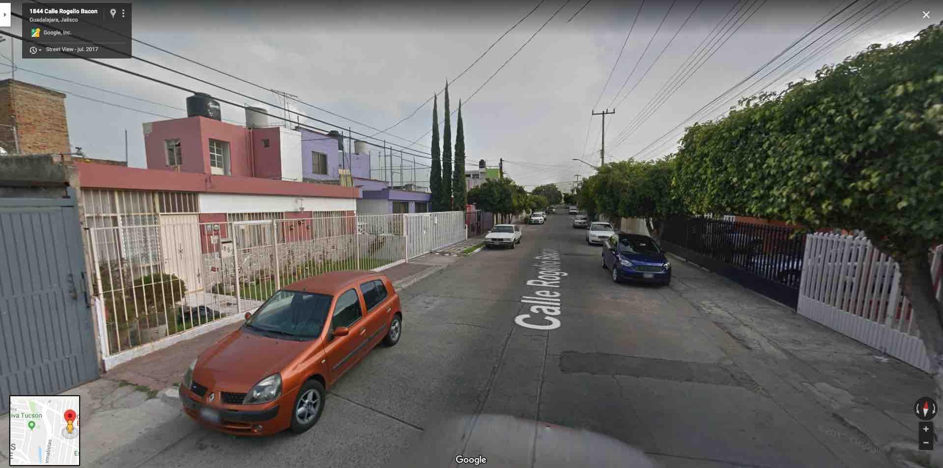 Colonia Independencia, Calle Rogelio Bacon 1863, Guadalajara, Jal. C.P. 44379