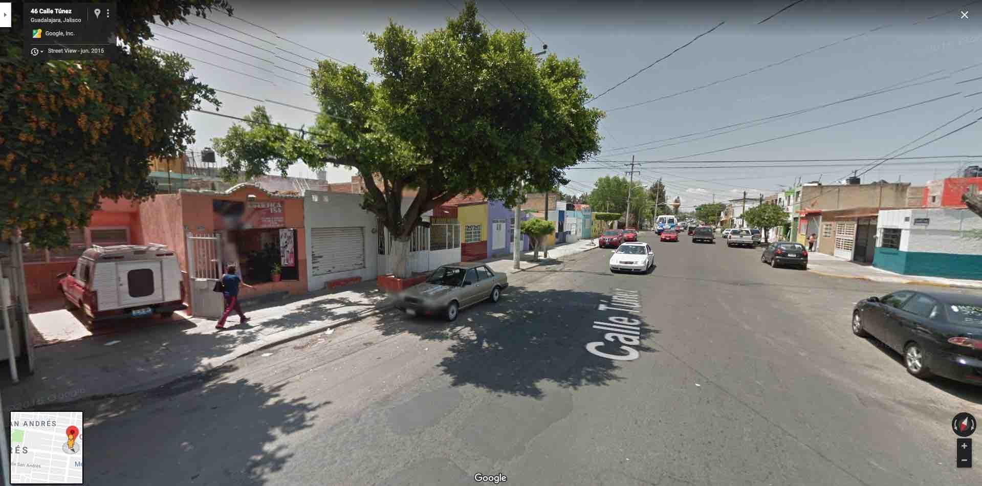 Colonia San Andres, Calle Tunez 38, Guadalajara, Jal. C.P. 44790
